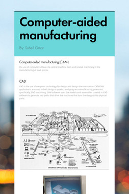 Computer-aided manufacturing