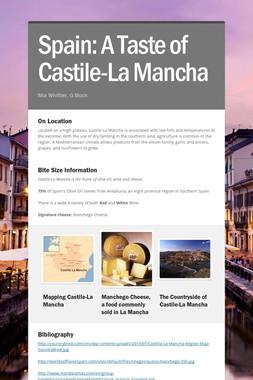 Spain: A Taste of Castile-La Mancha