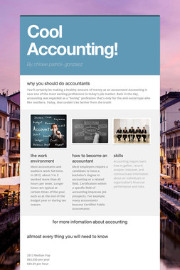 Cool Accounting!
