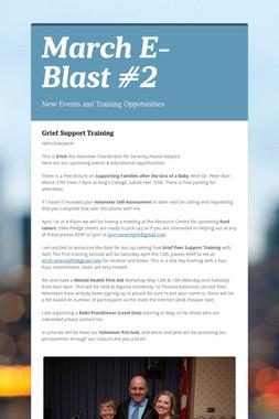 March E-Blast #2