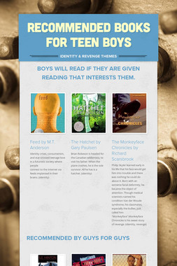 Recommended Books for Teen Boys