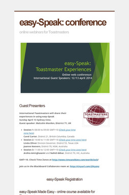 easy-Speak: conference