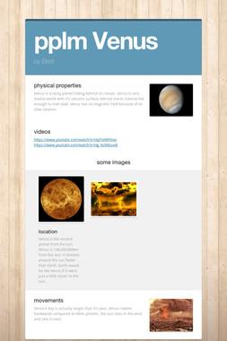 pplm Venus