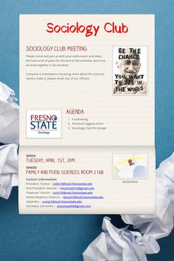 Sociology Club