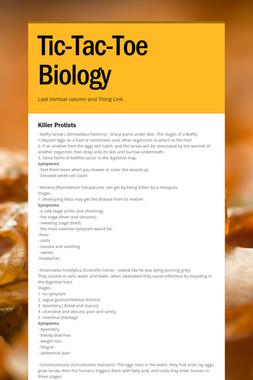 Tic-Tac-Toe Biology
