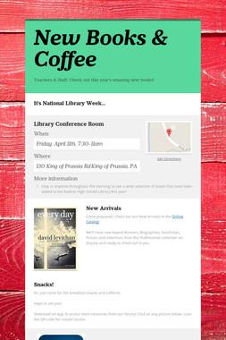 New Books & Coffee