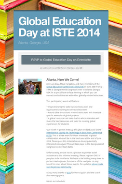 Global Education Day at ISTE 2014