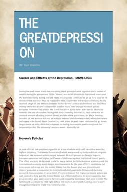 THE GREATDEPRESSION