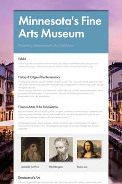 Minnesota's Fine Arts Museum