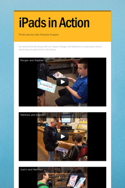 iPads in Action