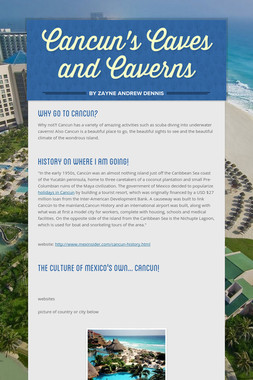 Cancun's Caves and Caverns