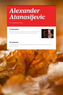 Alexander Atanasijevic