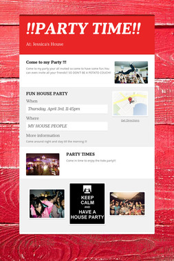 !!PARTY TIME!!