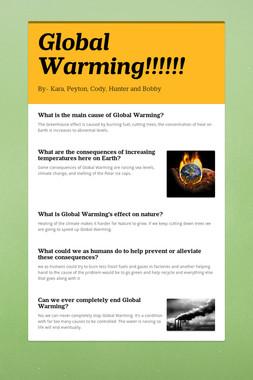 Global Warming!!!!!!