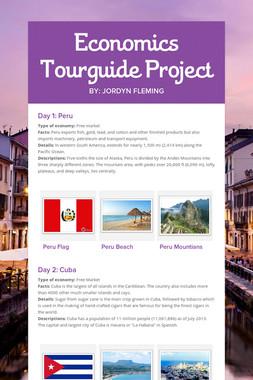 Economics Tourguide Project