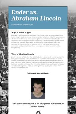 Ender vs. Abraham Lincoln