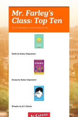 Mr. Farley's Class: Top Ten