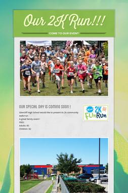 Our 2K Run!!!
