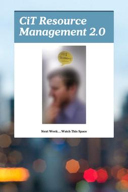 CiT Resource Management 2.0