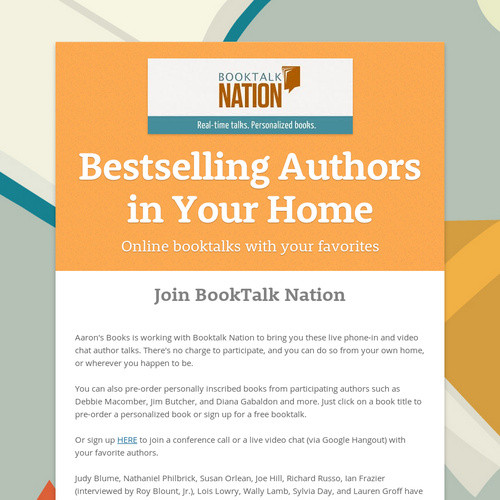 Bestselling Authors in Your Home | Ingram Sendr