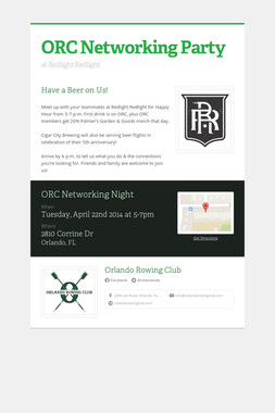 ORC Networking Party