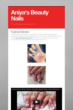 Aniya's Beauty Nails