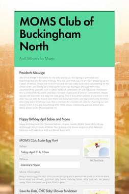 MOMS Club of Buckingham North