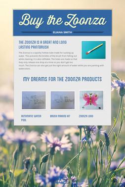 Buy the Zoonza