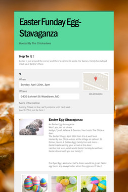 Easter Funday Egg-Stavaganza