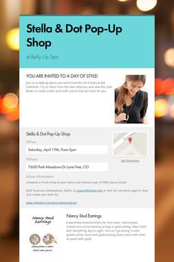 Stella & Dot Pop-Up Shop