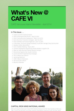 What's New @ CAFE VI