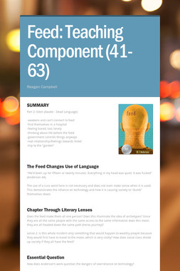 Feed: Teaching Component  (41-63)