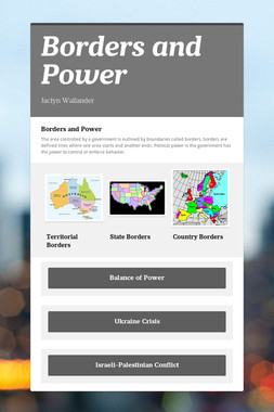 Borders and Power