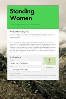 Standing Women