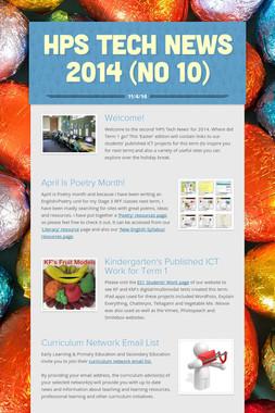 HPS Tech News 2014 (No 10)