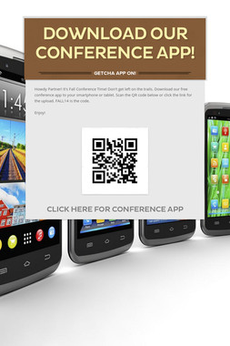 Download Our Conference App!
