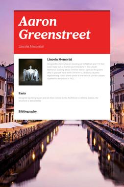 Aaron Greenstreet