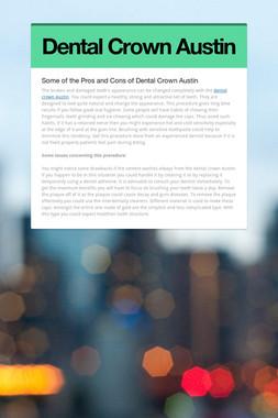Dental Crown Austin