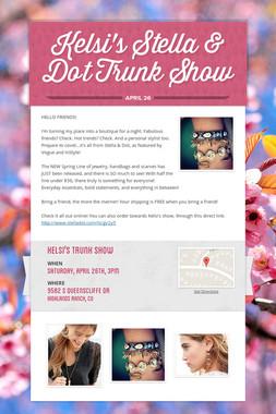 Kelsi's Stella & Dot Trunk Show