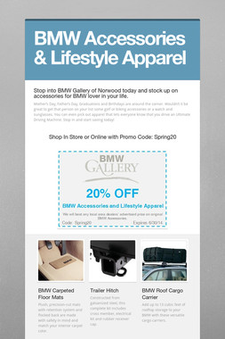 BMW Accessories & Lifestyle Apparel