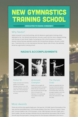 New Gymnastics Training School