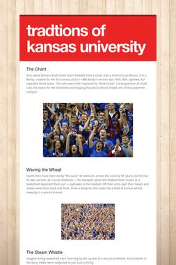 tradtions of kansas university