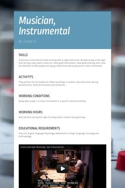Musician, Instrumental
