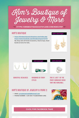 Kim's Boutique of Jewelry & More