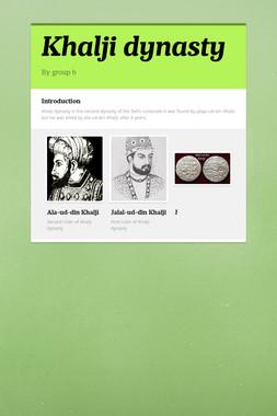 Khalji dynasty