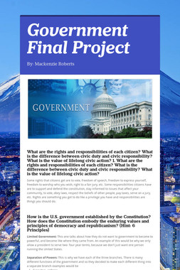 Government Final Project