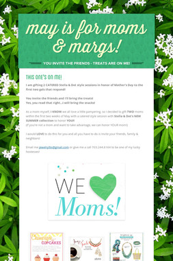may is for moms & margs!