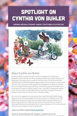 Spotlight on Cynthia von Buhler
