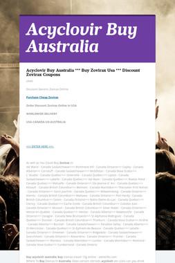 Acyclovir Buy Australia