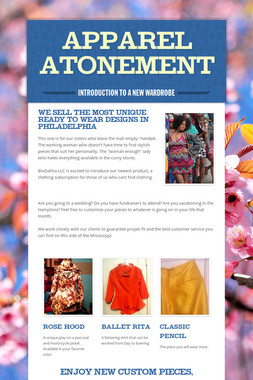 Apparel Atonement